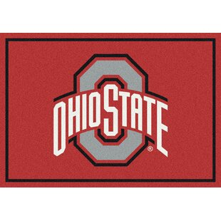 Collegiate Ohio State University Buckeyes Doormat By My Team by Milliken