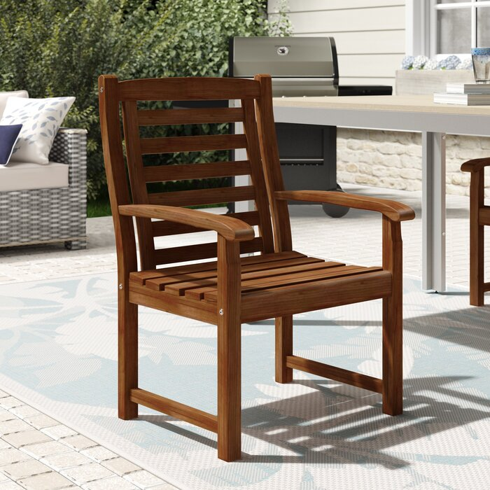 Pine Hills Traditional Patio Dining Chair