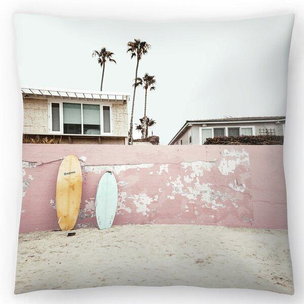 East Urban Home Vacay Throw Pillow Wayfair