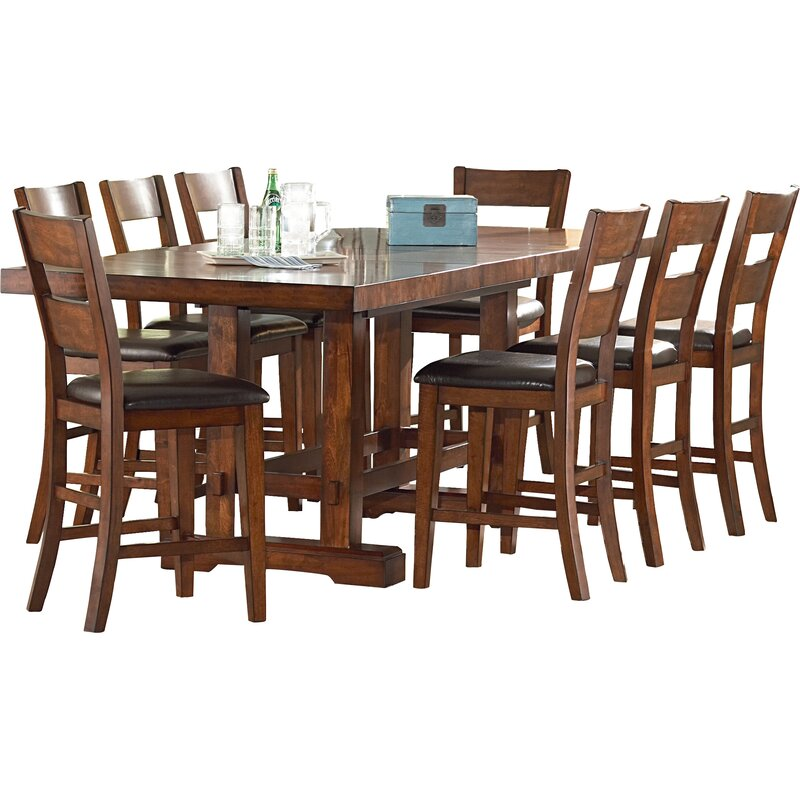 Astonishing Ellington Counter Height Extendable Dining Table Caraccident5 Cool Chair Designs And Ideas Caraccident5Info