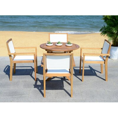 Claris 5 Piece Dining Set by Beachcrest Home