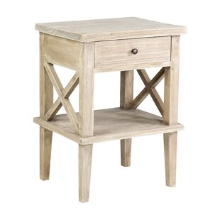 Destrey Mindi Wood End Table
