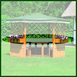 Planter Box For Torrino And Tivoli Pavillion (Set Of 5) By Sol 72 Outdoor