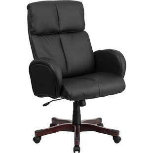 Symple Stuff Worsley Leather Executive Chair