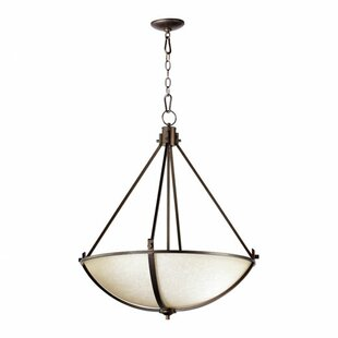 Charlton Home Lemon 4-Light Bowl Pendant