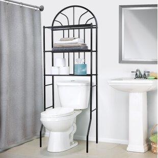 E Saver 24 4 W X 68 H Over The Toilet Storage