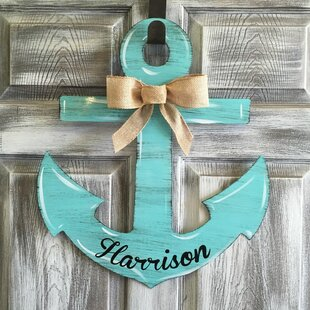 Anchor Door Line Hanging Sign & Front Door Hanging Decor | Wayfair