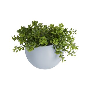 Globe Ceramic Wall Planter By Present Time