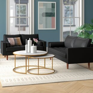 Rumaisa 2 Piece Living Room Set by George Oliver