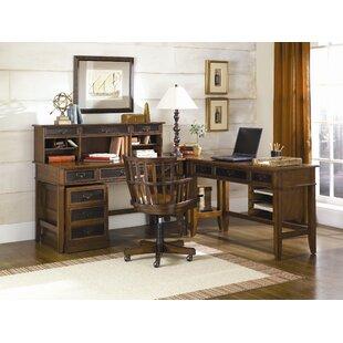 Gracie Oaks Calderwood 6-Piece Desk Office Suite