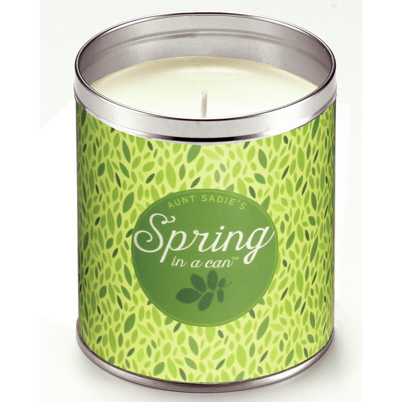 Spring in a Can Lilac Scented Jar Candle