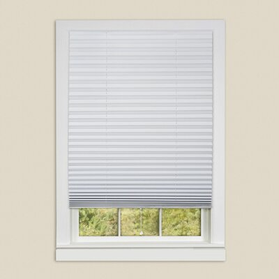 Sweet Home Collection Vinyl Room Darkening Temporary Pleated Shades