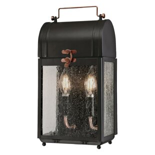 Great Price Markita 2-Light Outdoor Wall Lantern By Williston Forge