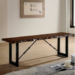 Nesbit Industrial Wood/Metal Bench