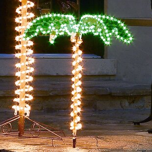 Find Palm Tree 2.5 ft. Rope Light By Roman, Inc.