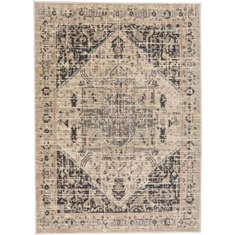 Williston Forge Driggers Abstract Gray Area Rug Reviews Wayfair
