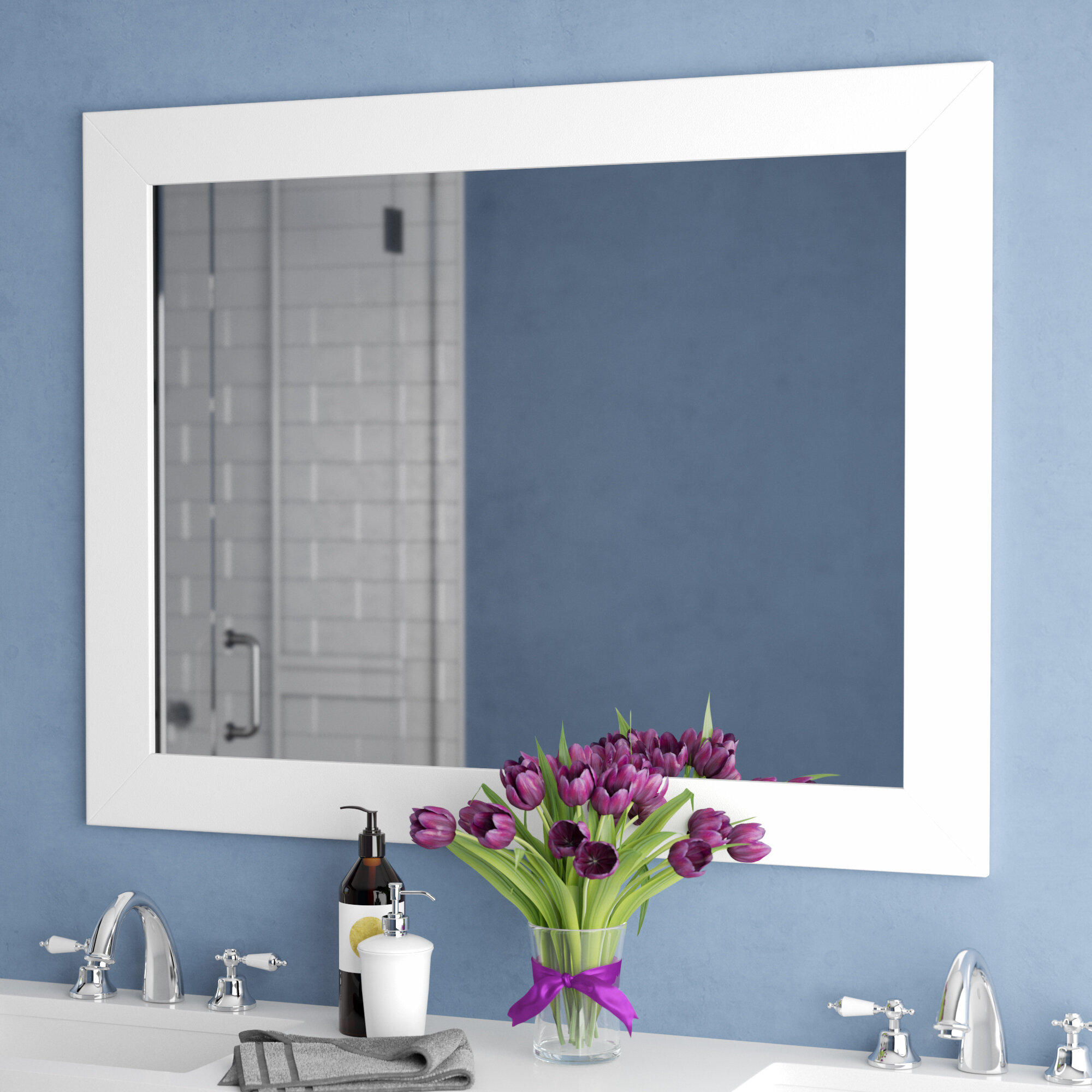 Ebern Designs Kanisha Bathroom Vanity Mirror Reviews Wayfair Ca