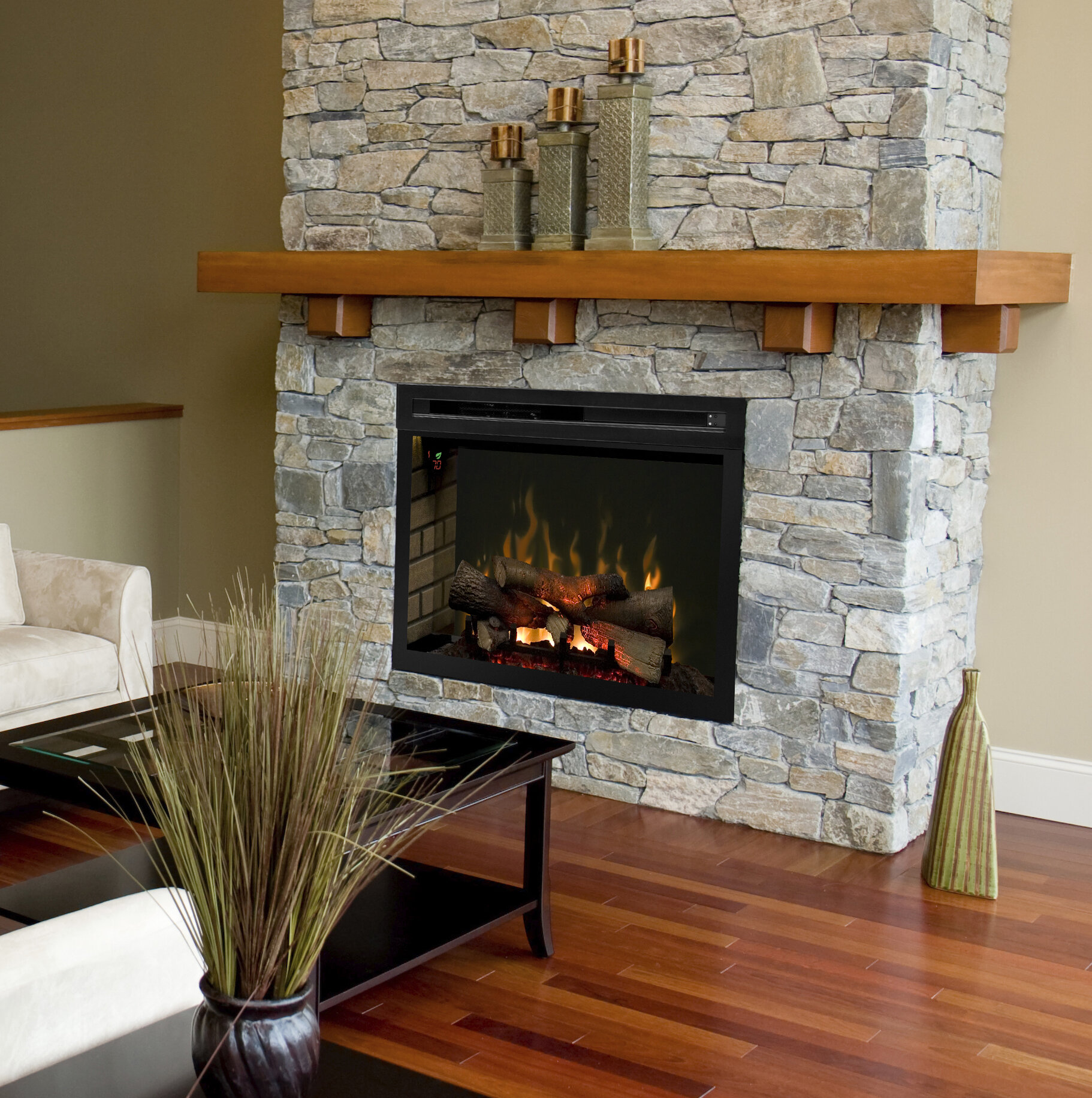 Dimplex Multi Fire Xd Wall Mounted Electric Fireplace Insert  # Dimplex Foyer Electrique