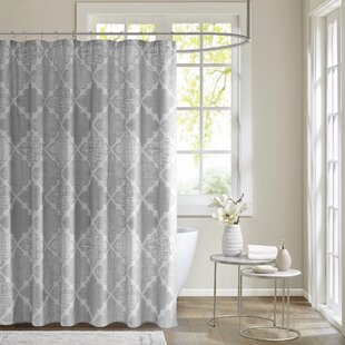 Best Reviews Harding Cotton Sateen Shower Curtain By Alcott Hill