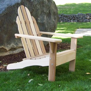 Idaho Wood Adirondack Chair
