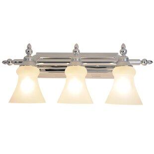3-Light Vanity Light by Monument
