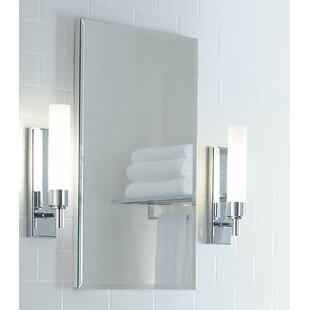 """R3 Series 16"""" x 20"""" Recessed or Surface Mount Medicine Cabinet with 2 Adjustable Shelves"""