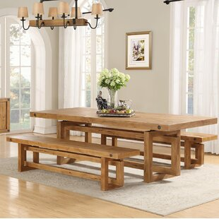 Dining Table With Bench Set | Wayfair.co.uk