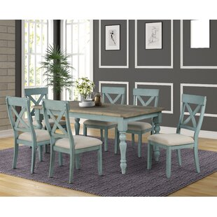 Cierra 7-Piece Dining Set Ophelia & Co.