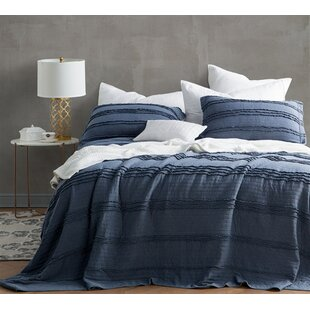 Jermaine Ruffled Stone Washed Quilt