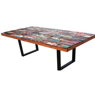 Barnes Rectangular Dining Table by Loon Peak Wonderfult