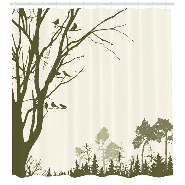 Tree Branch Shower Curtain Wayfair