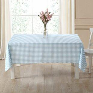 Choe Plaid Fabric Tablecloth