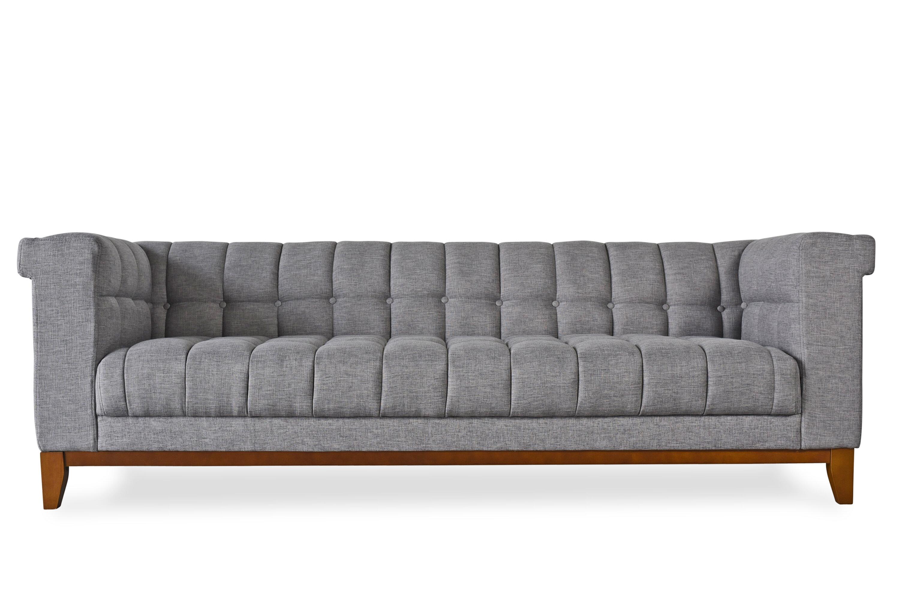 Everly Quinn Claughaun Modern Chesterfield Sofa | Wayfair