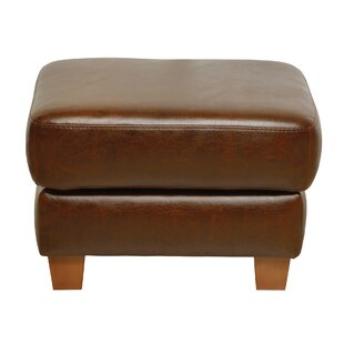Remarkable Corine Leather Ottoman Inzonedesignstudio Interior Chair Design Inzonedesignstudiocom