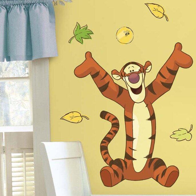 Room Mates Winnie the Pooh Tigger Giant Wall Decal & Reviews | Wayfair