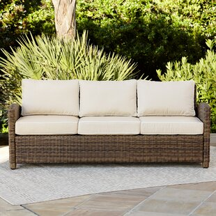 Lawson Patio Sofa with Cushions by Birch Lane™ Heritage