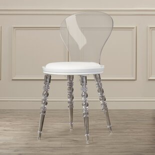 Willa Arlo Interiors Therese Solid Back Side Chair