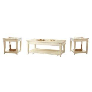 Birch Lane? Heritage Wheaton 3 Piece Coffee Table Set