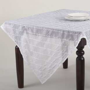 Sheer Stitched Tablecloth