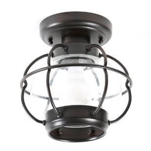 Affordable Chincoteague Outdoor Flush Mount By Birch Lane™