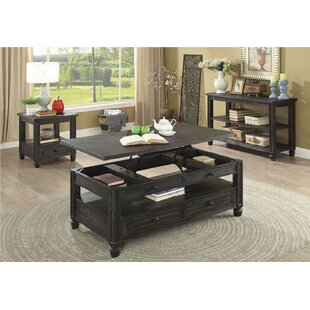 Rebekah 3 Piece Coffee Table Set