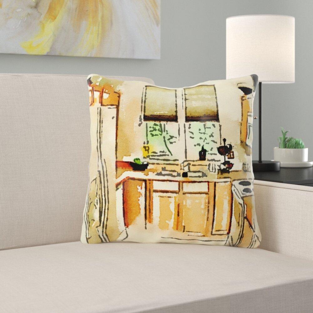 Ebern Designs Toshiro Kitchen Throw Pillow Wayfair