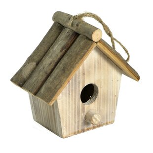 WoodWard Hanging Birdhouse (Set Of 4) By August Grove