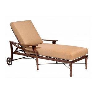 Woodard Arkadia Adjustable Chaise Lounge