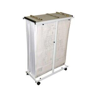 Adir Corp Mobile Vertical Filing Cabinet