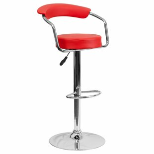 Park Place Modern Adjustable Height Bar Stool (Set Of 2) by Orren Ellis Today Sale Only