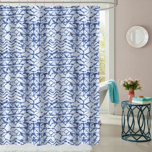 Wedgeport Polyester Single Shower Curtain