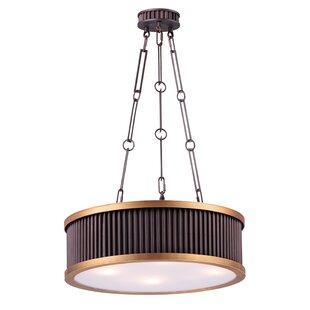 Mercer41 Langton Single 4-Light Drum Pendant