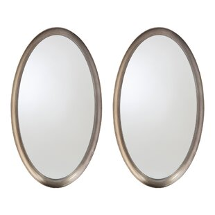 Inexpensive Gemini Bathroom/Vanity Mirror (Set of 2) By John-Richard