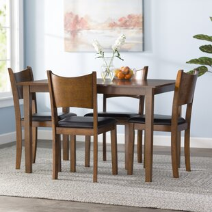 Driscoll 5 Piece Dining Set Red Barrel Studio